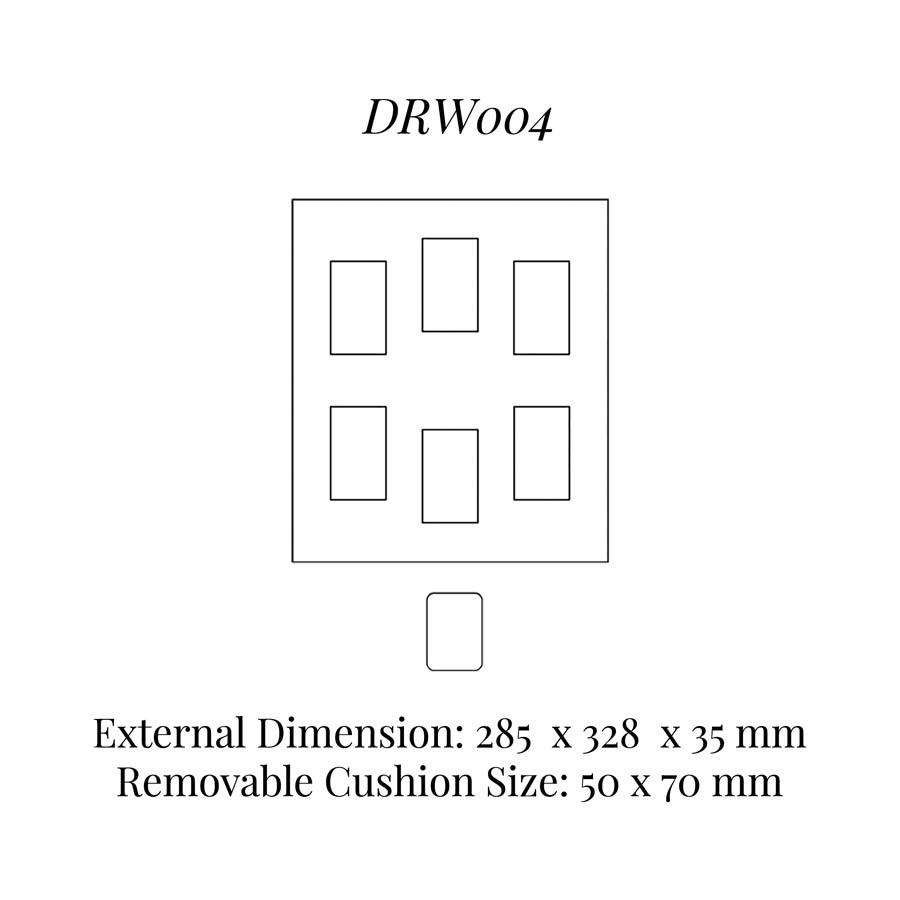 DRW004 Watch Cushion Drawer Insert