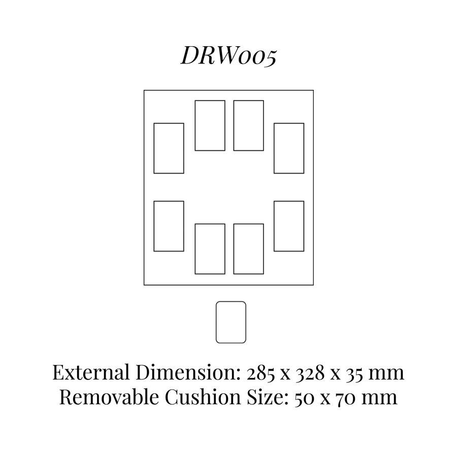 DRW005 Watch Cushion Drawer Insert