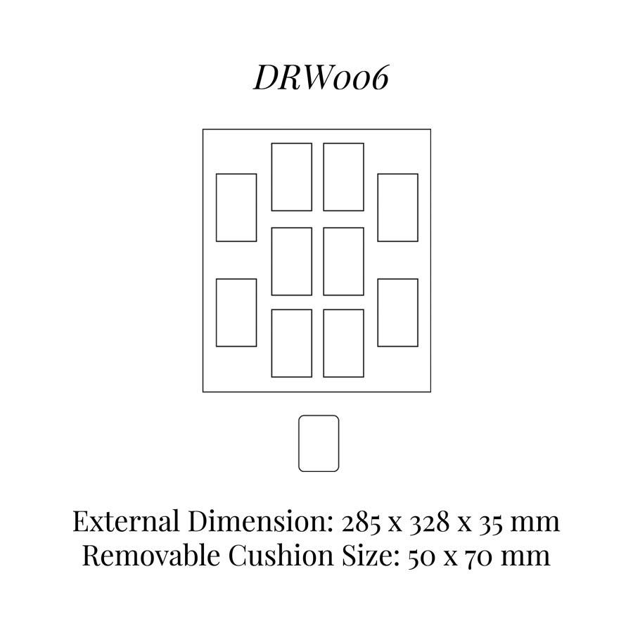 DRW006 Watch Cushion Drawer Insert