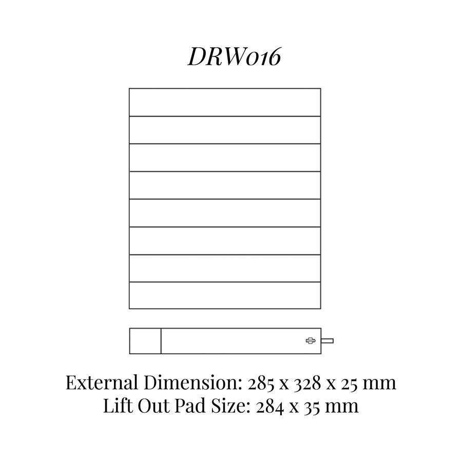 DRW016 Neck Chains Drawer Insert