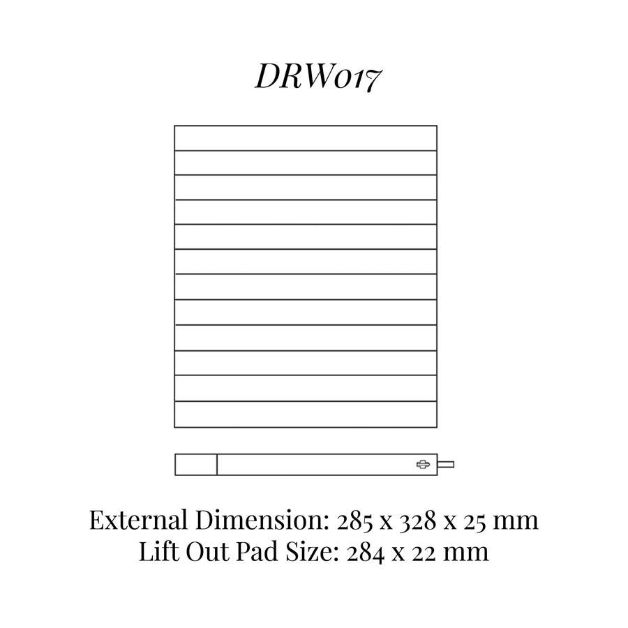 DRW017 Neck Chains Drawer Insert