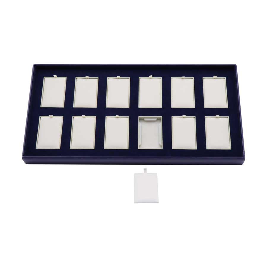 KAS106: 12 on Pad Jewelry Tray