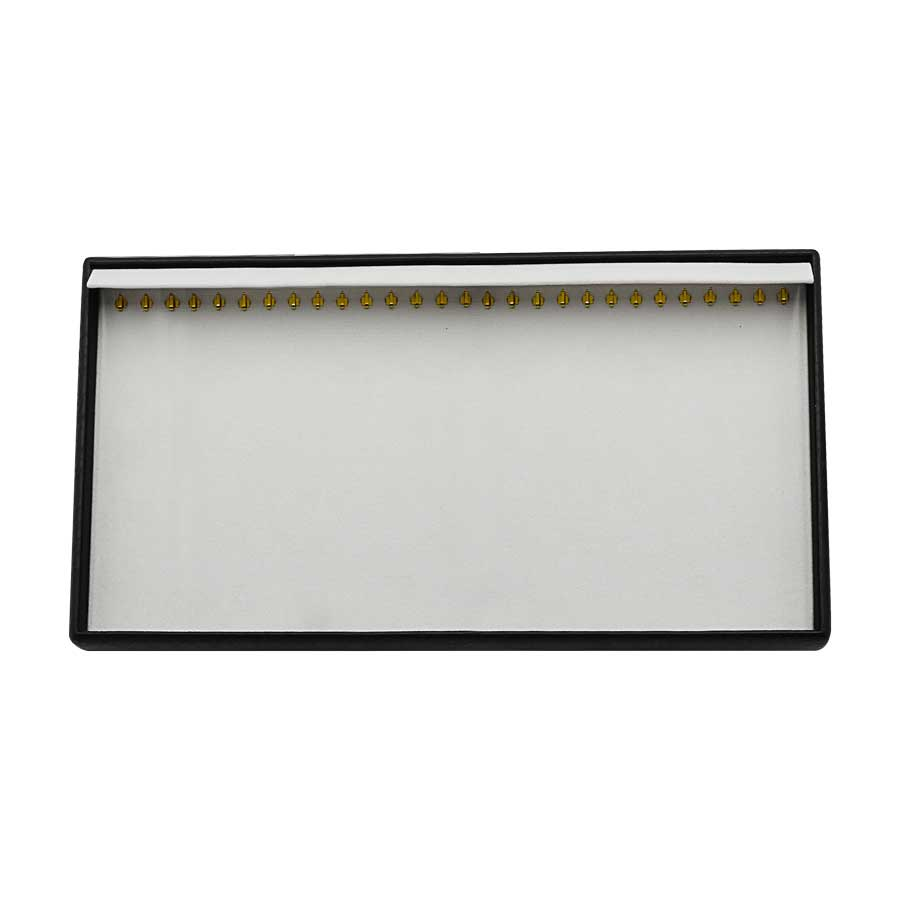 KAS110 Neck Chain Tray 28 hooks with flap cover