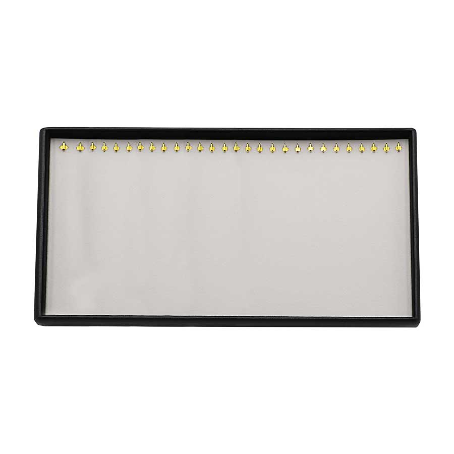 KAS114: Neck Chain Tray 28 hooks no flap cover