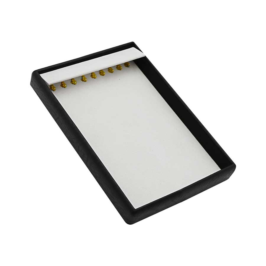 KAS210 Neck Chain Tray 9 hooks with flap cover