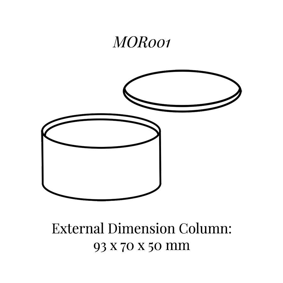 MOR001 Oval Column