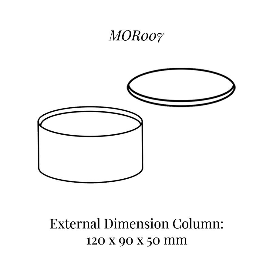 MOR007 Oval Column