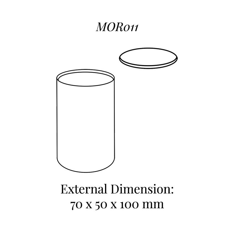 MOR011 Oval Column