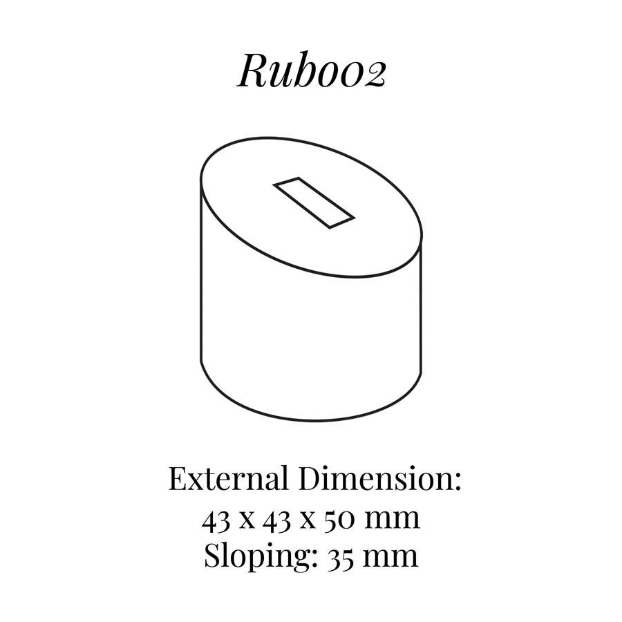 RUB002 Small Round Ring Column