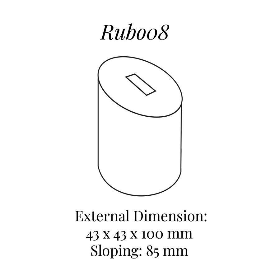 RUB008 Extra Tall Round Ring Column