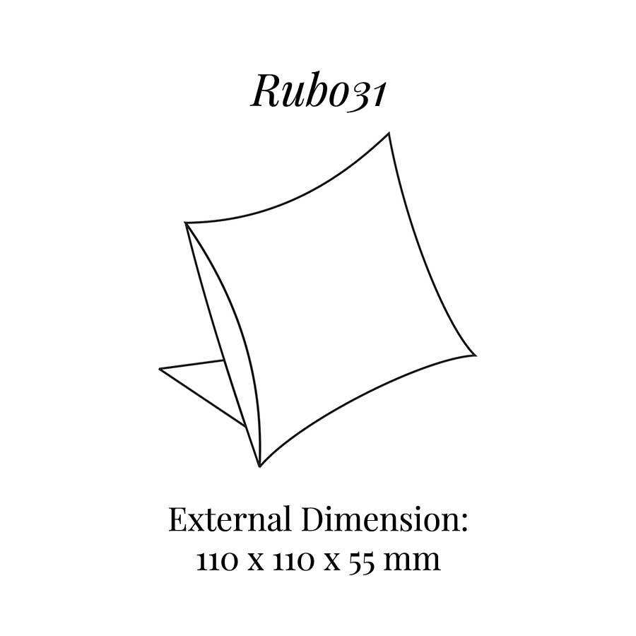 RUB031 Large Cushion