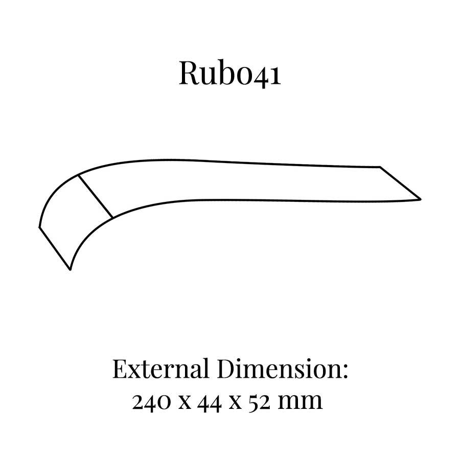 RUB041 Curved Bracelet Display