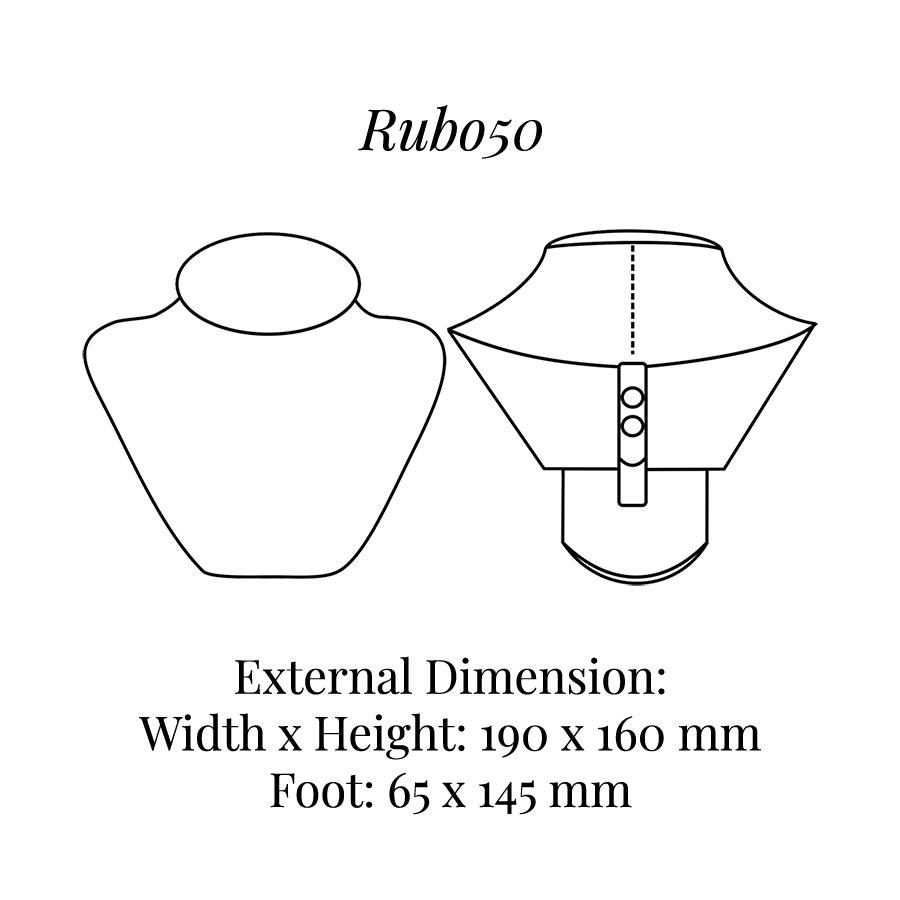 RUB050 Neck Bust Display