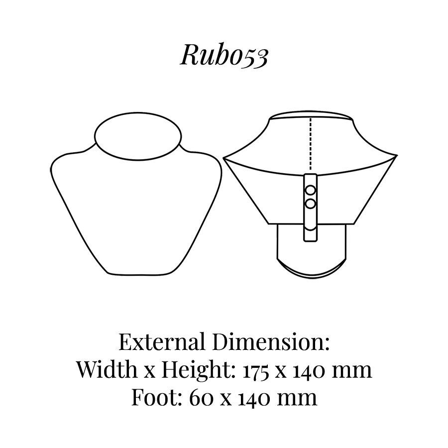RUB053 Neck Bust Display