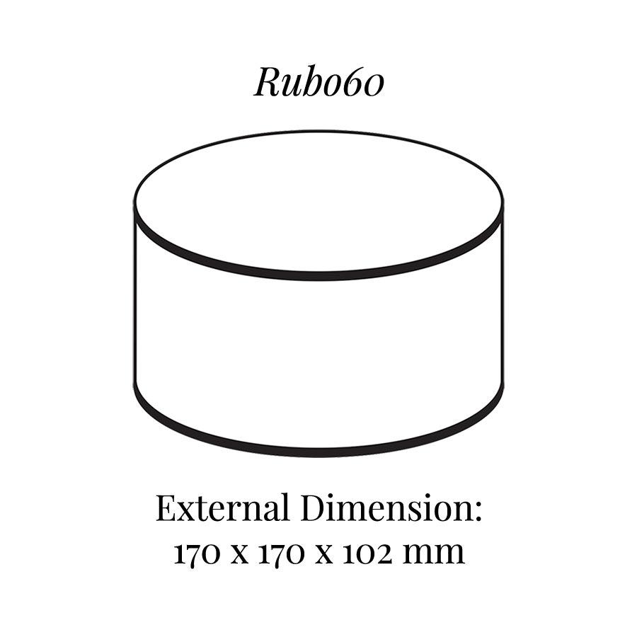 RUB060 Round Raiser Block