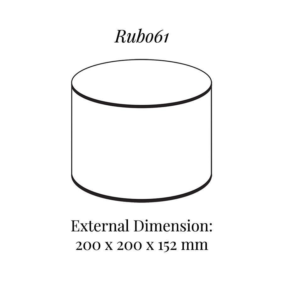 RUB061 Round Raiser Block