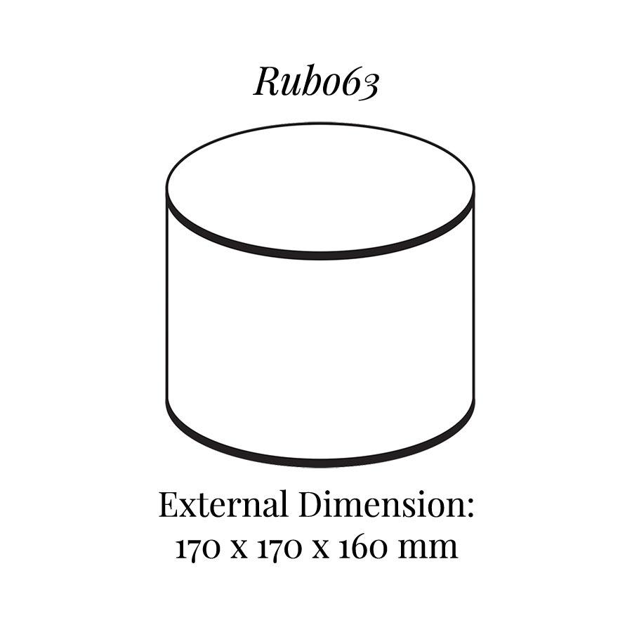 RUB063 Round Raiser Block