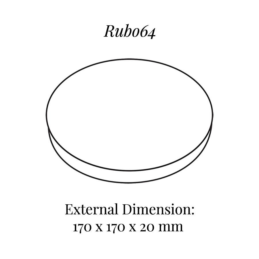 RUB064 Round Raiser Block