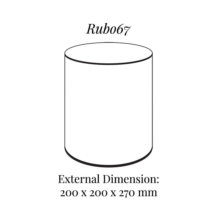 RUB067 Round Raiser Block