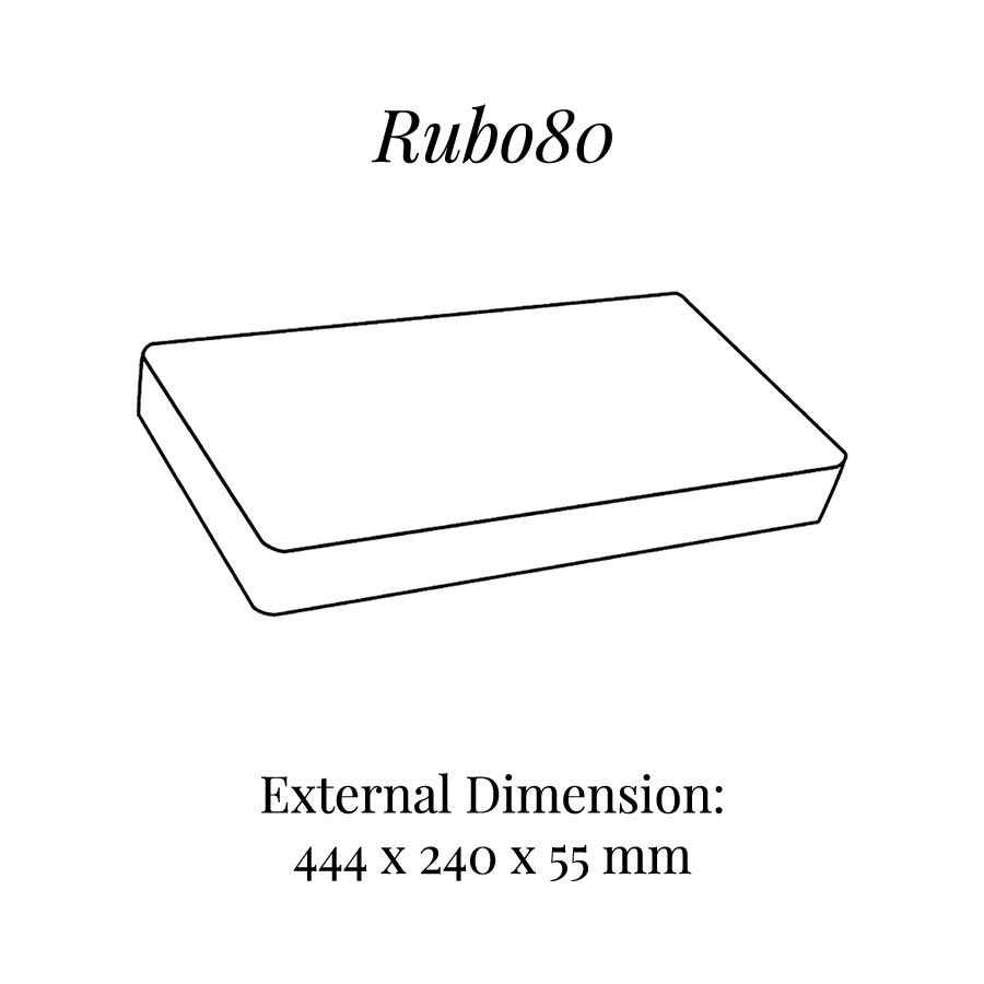RUB080 Base Raiser Block
