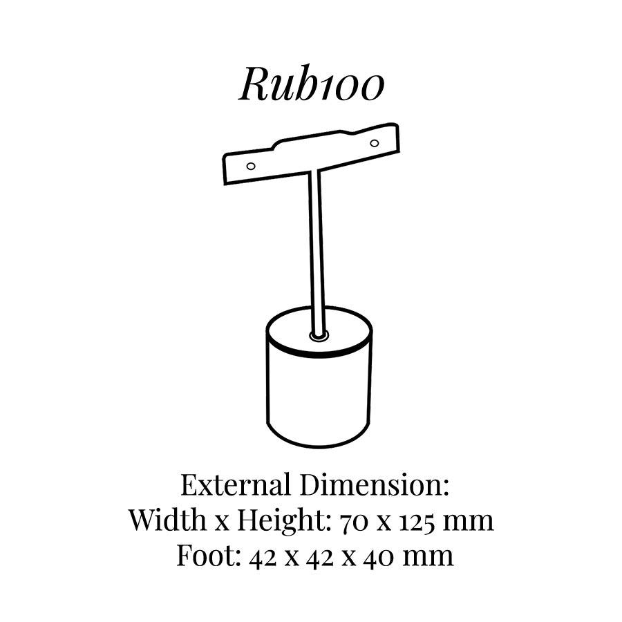 RUB100 Earrings Tree