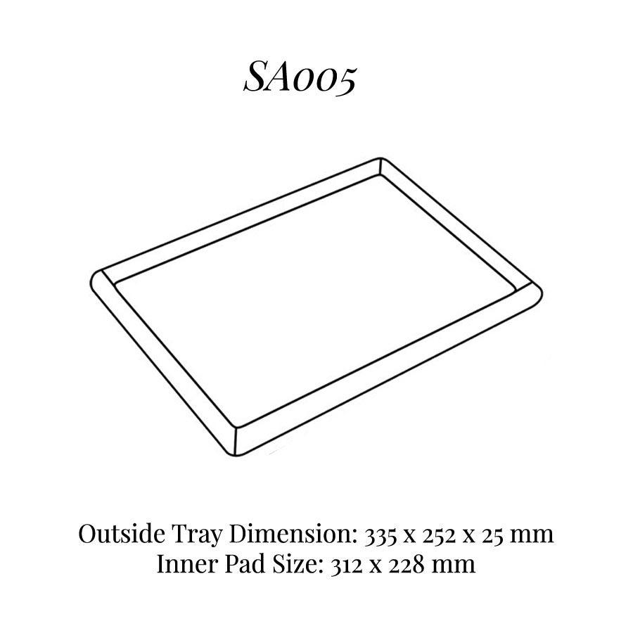 SA005 Plain Counter Serving Tray