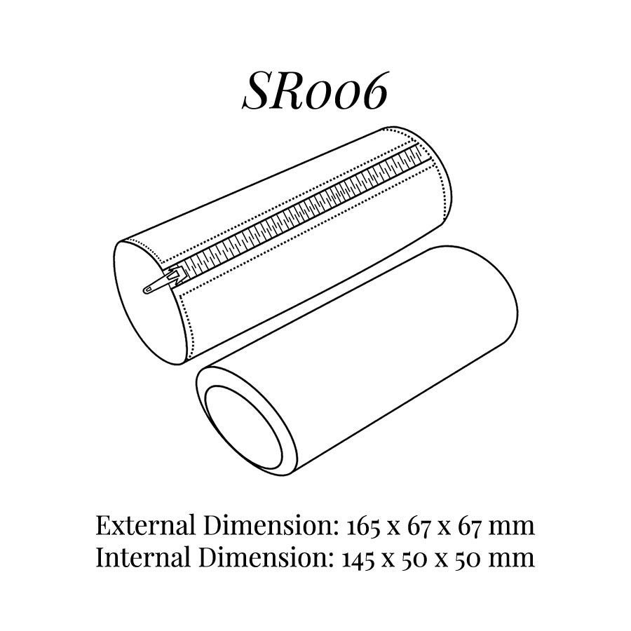 SR006 Soft Zip Bangle Pouch