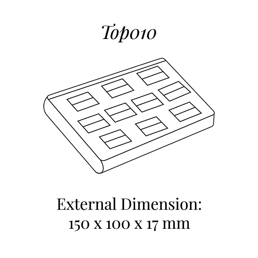 TOP010 Ten On Ring Tray