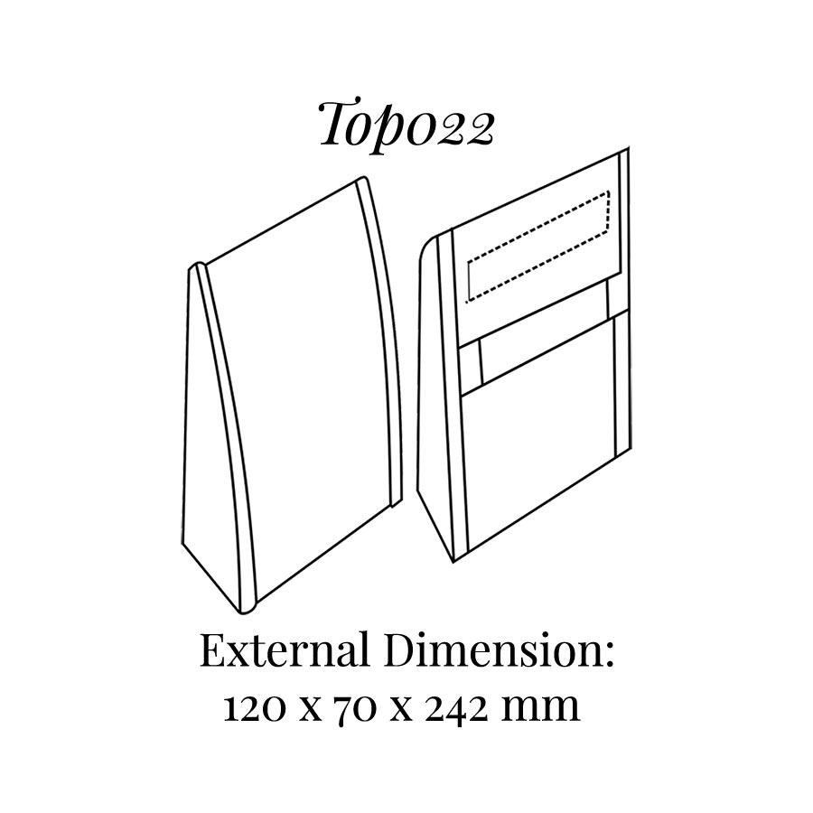 TOP022 Curved Column Display