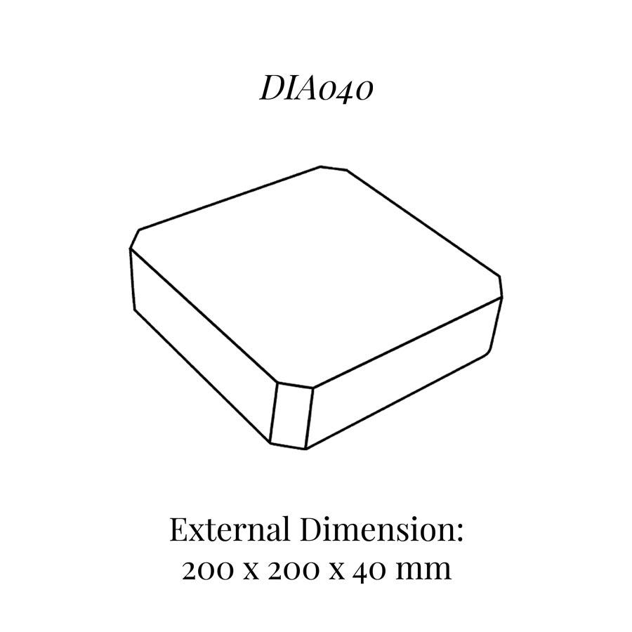 DIA040 Raiser Block (200x200mm)