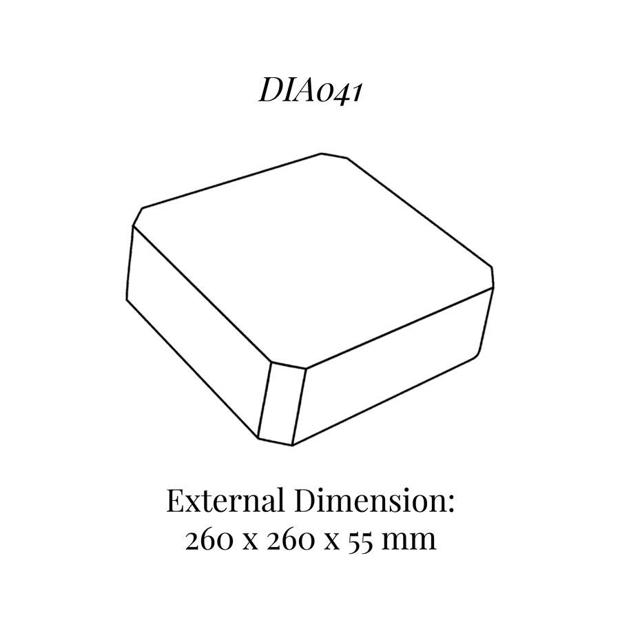 DIA041 Raiser Block (260x260mm)