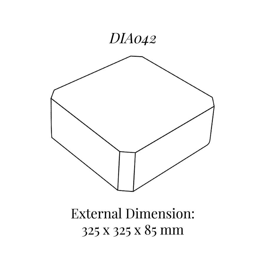 DIA042 Raiser Block (325x325mm)