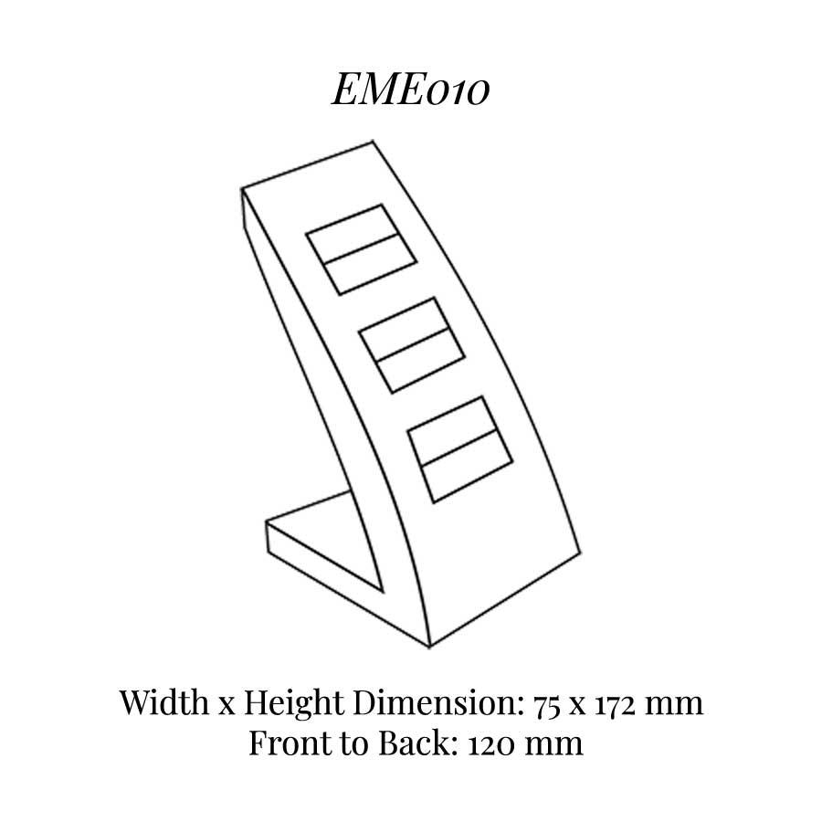 EME010 Three On Ring Soft Roll Display