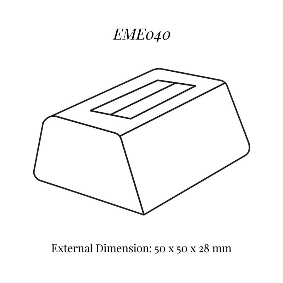 EME040 Small Single Ring Soft Roll Display
