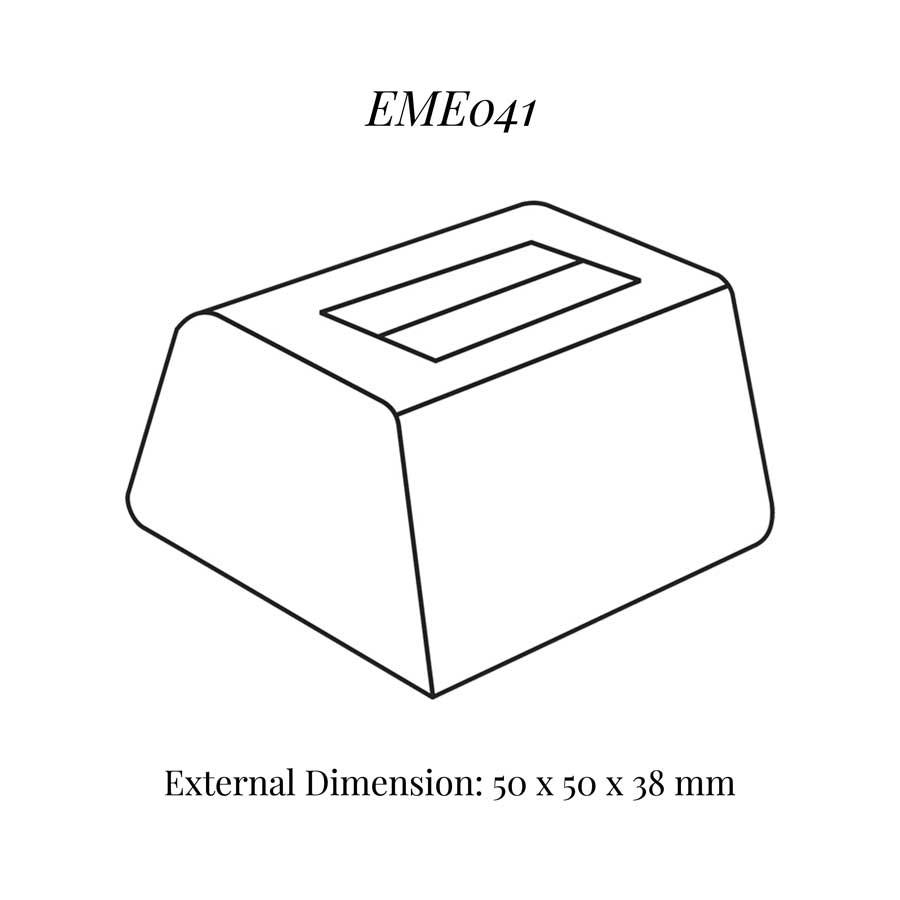 EME041 Medium Single Ring Soft Roll Display