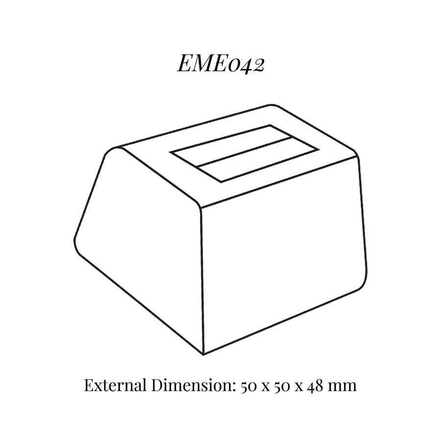 EME042 Tall Single Ring Soft Roll Display