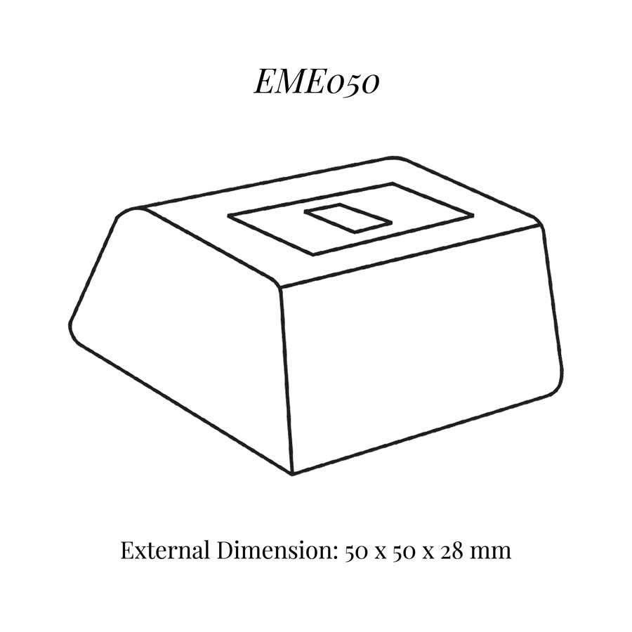 EME050 Small Single Ring Clip Display