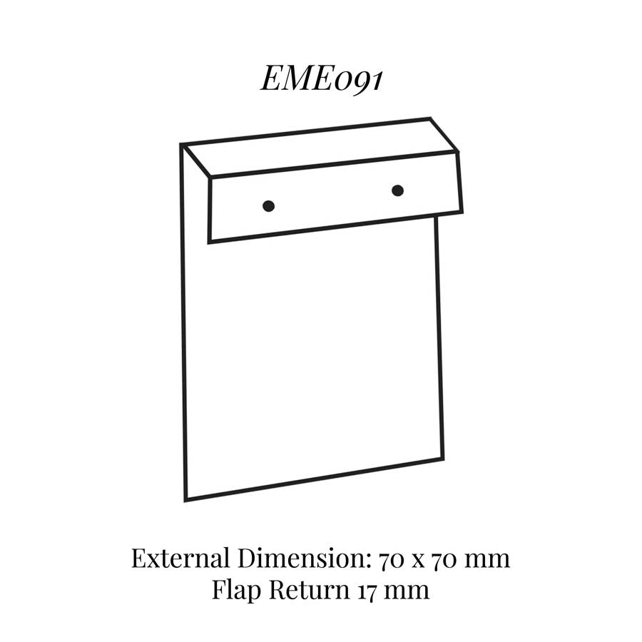 EME091 Insert to Eme090 Flap Style Earring Pad