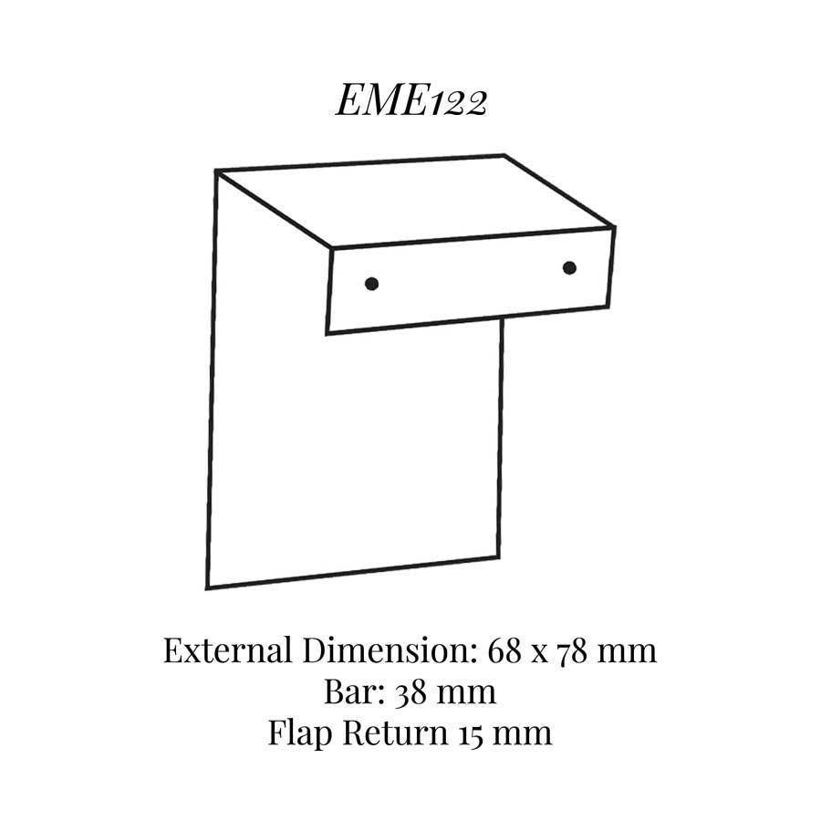 EME122 Insert to Eme120 Drop Earring Pad