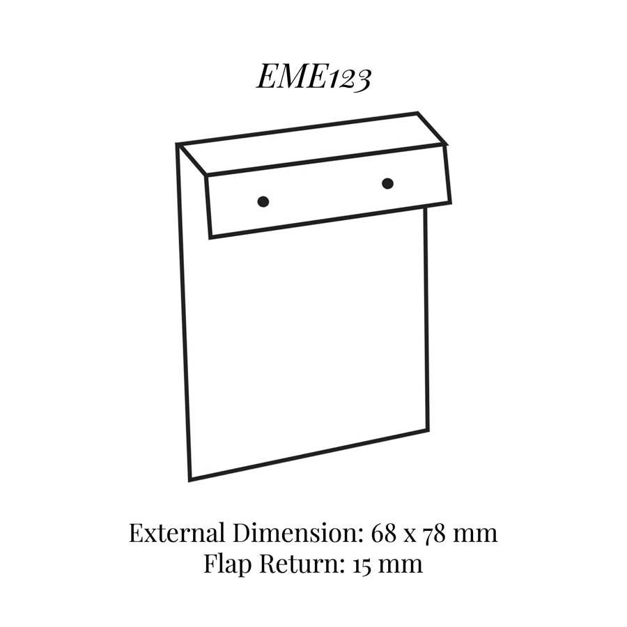 EME123 Inner Flap Style Earring Pad