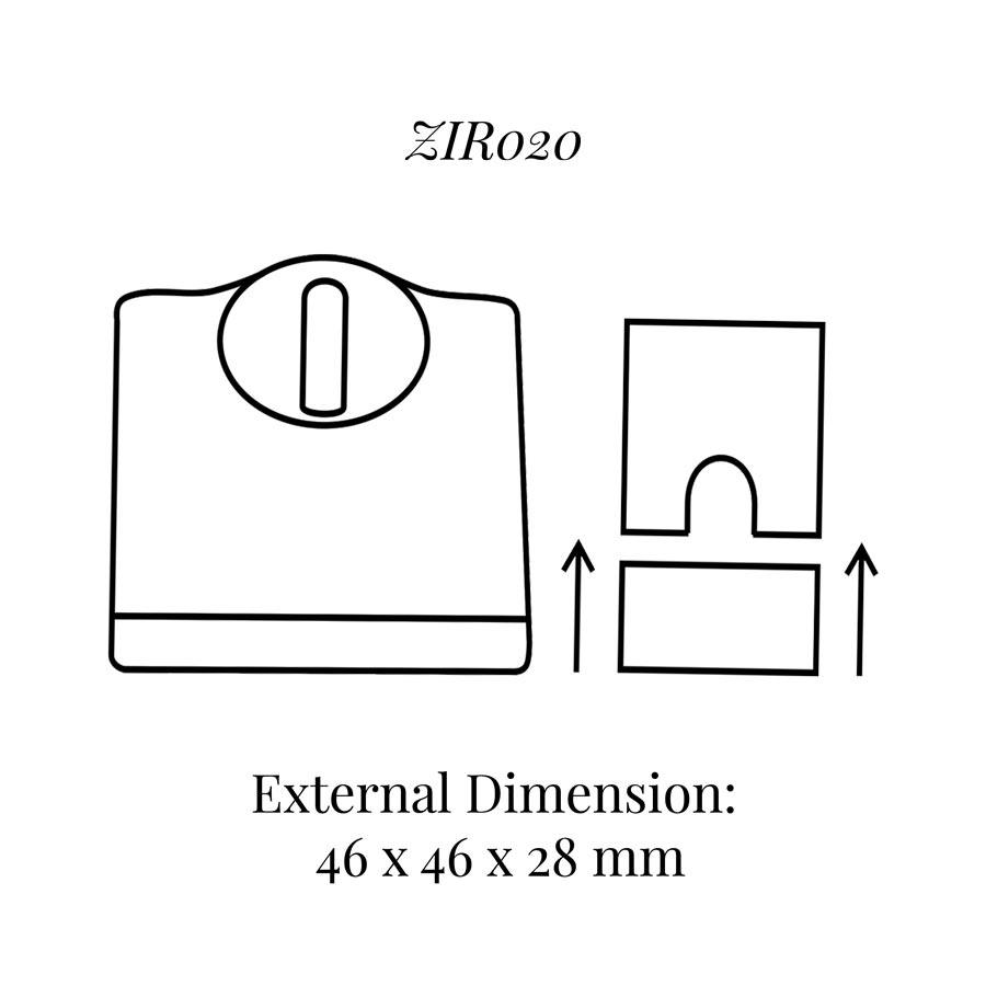 ZIR020 Ring Display with Tin