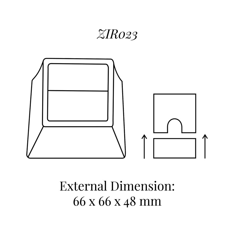 ZIR023 Ring Display Soft Roll