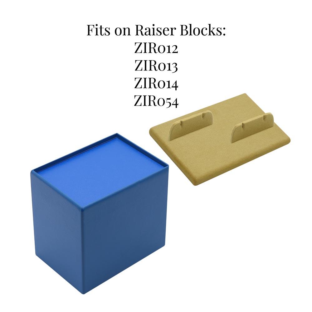 ZIR031 Cufflinks Display for two pairs