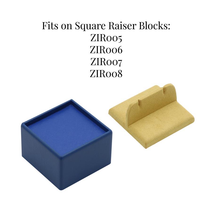 ZIR032 Bar Cufflinks Display
